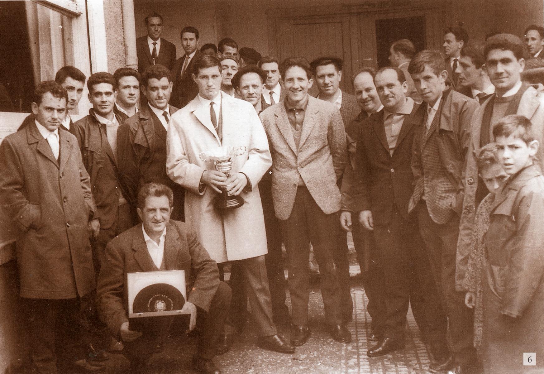Marcelino Vergaran partida Tolosan 1960. urte aldera
