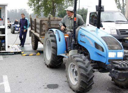 Inspección técnica de vehículos agrarios